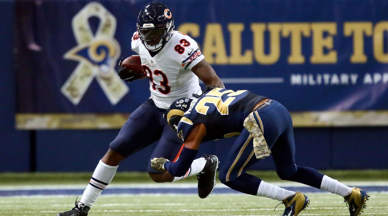 chicago bears packers injuries martellus bennett