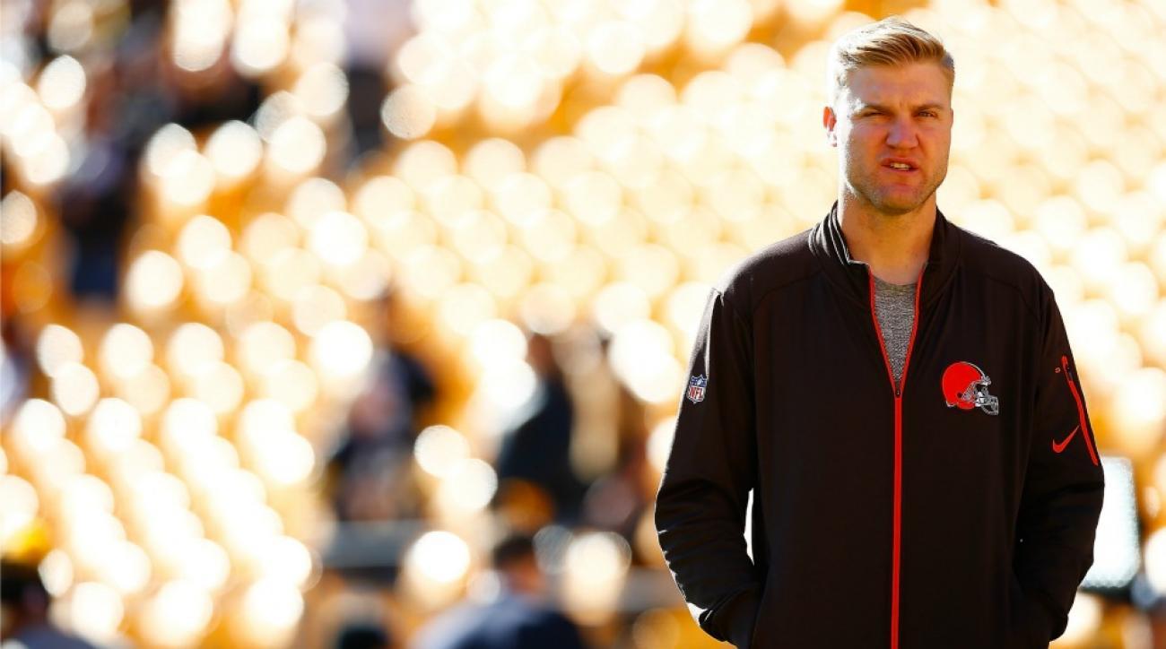 Cleveland Browns Josh McCown, Ravens Matt Schaub talked on Wednesday