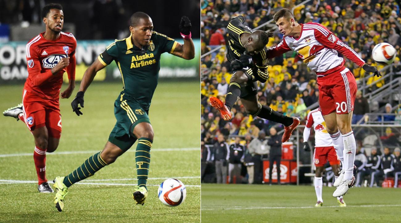 MLS Playoffs, Darlington Nagbe, Kei Kamara