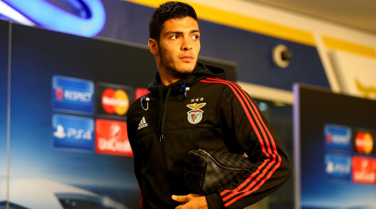 Raul Jimenez, Mexico, Benfica