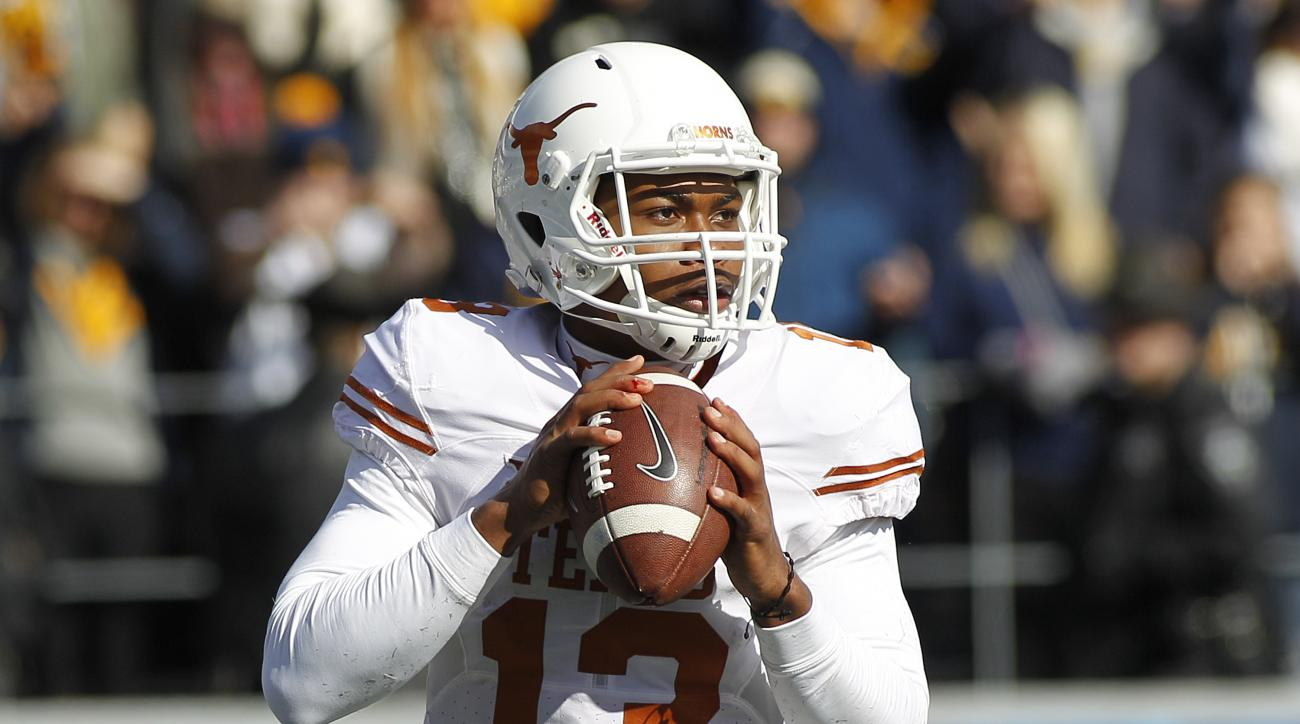 Texas QB Jerrod Heard ruled out with head injury