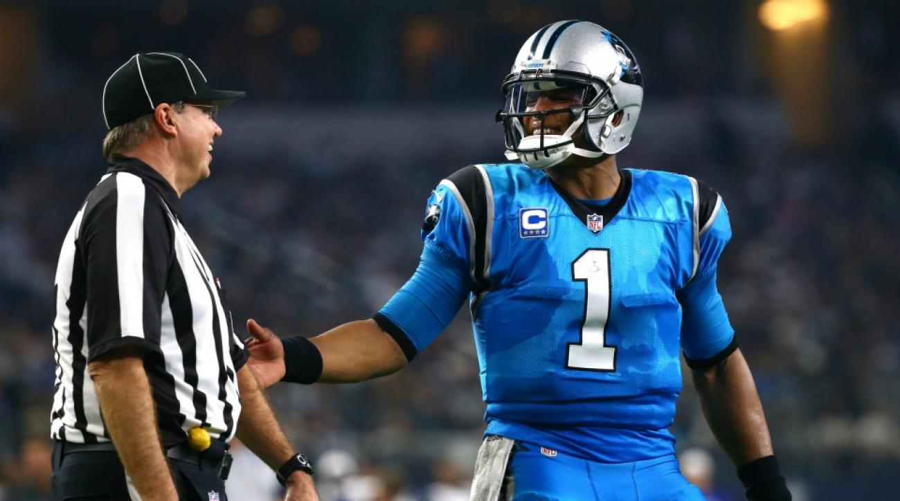 Cam Newton wore little cam newtons on his cleats on Thanksgiving