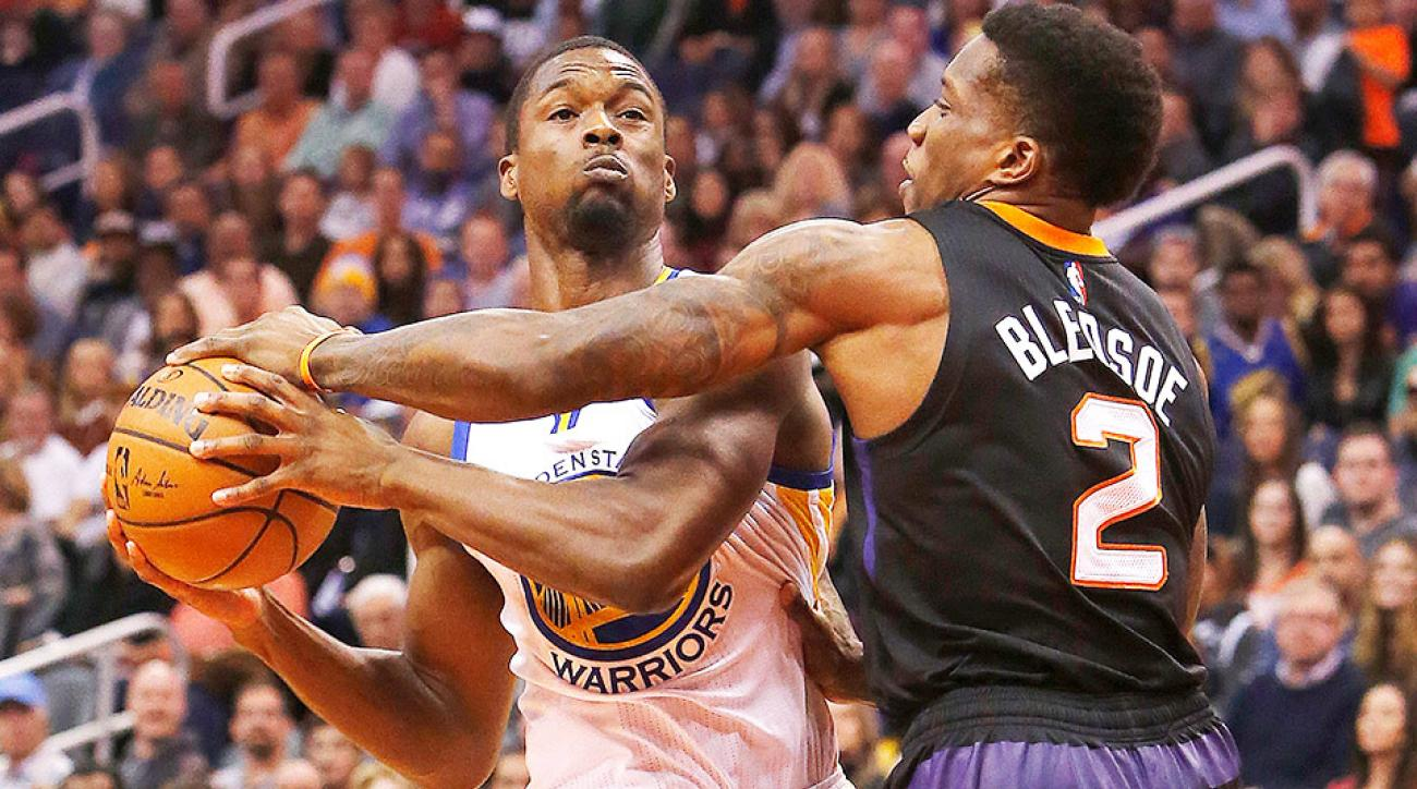 Harrison Barnes ankle sprain Golden State Warriors Phoenix Suns