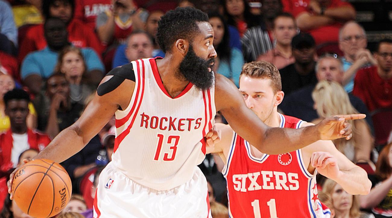 James Harden 50 points Houston Rockets Philadelphia 76ers