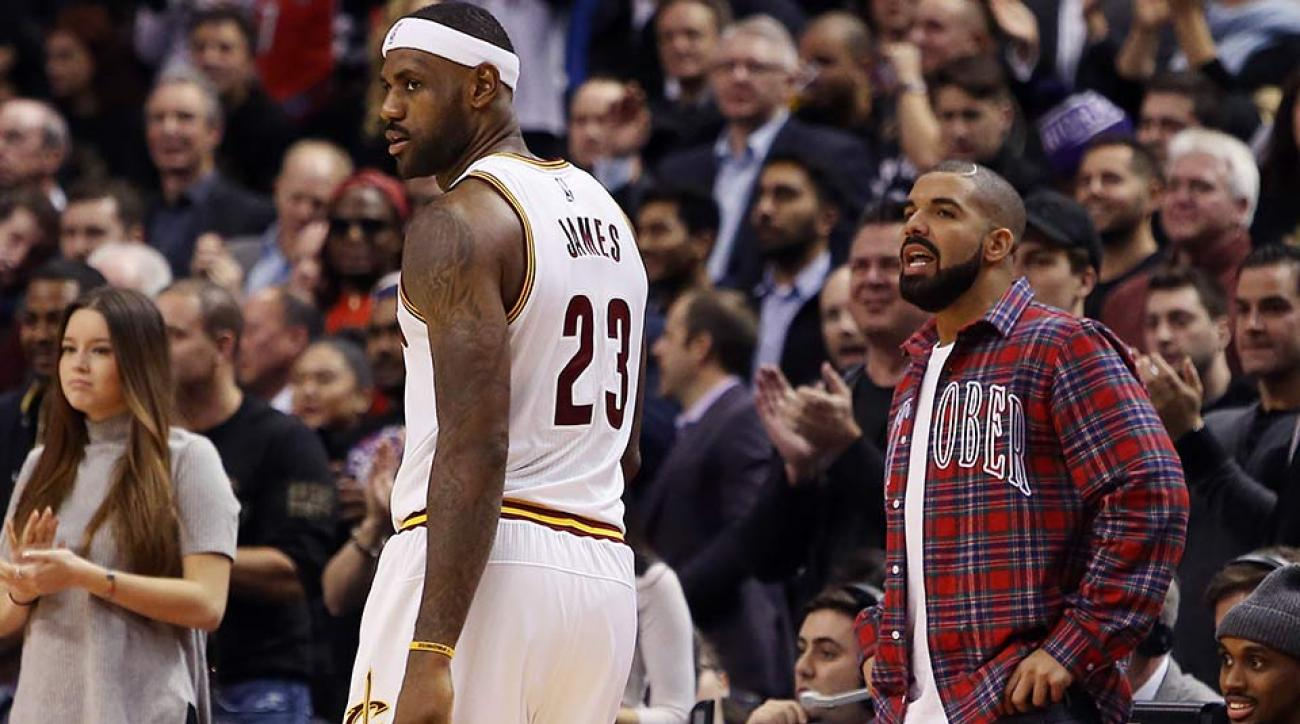 LeBron James; Drake