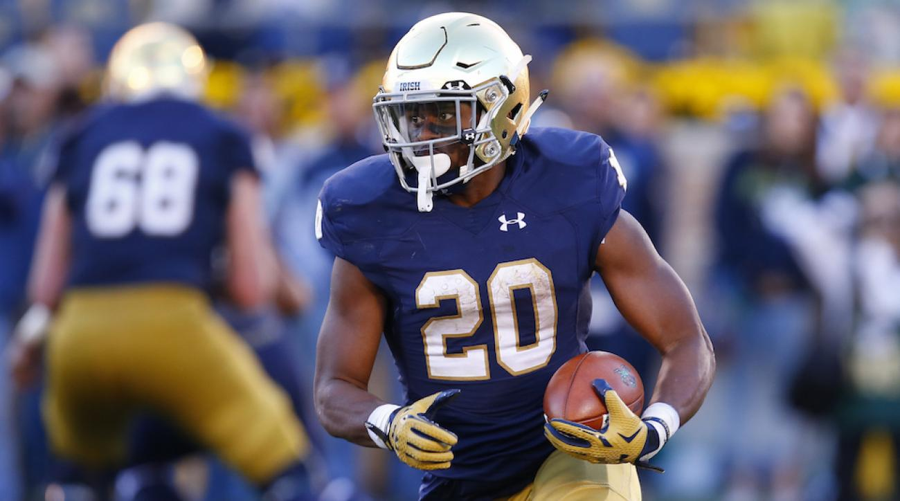 notre dame cj prosise injury update