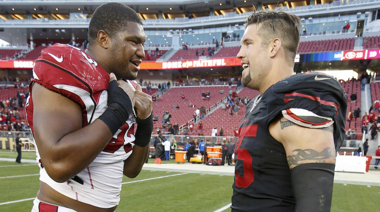 49ers cardinals alex boone referee comments