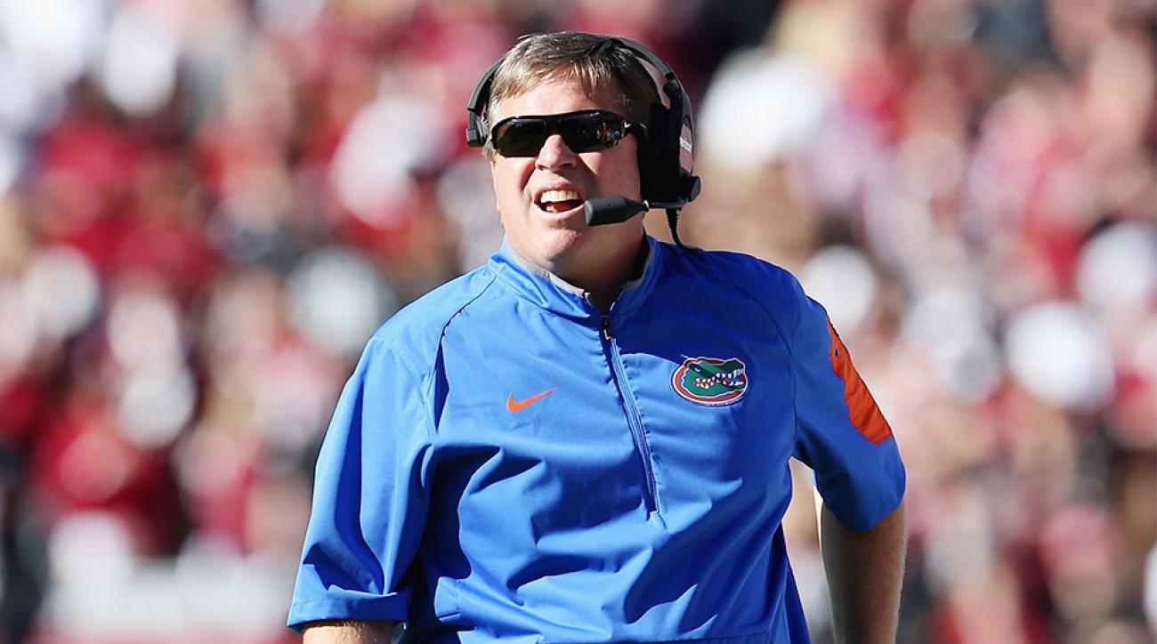Feleipe Franks Jim McElwain Florida Gators