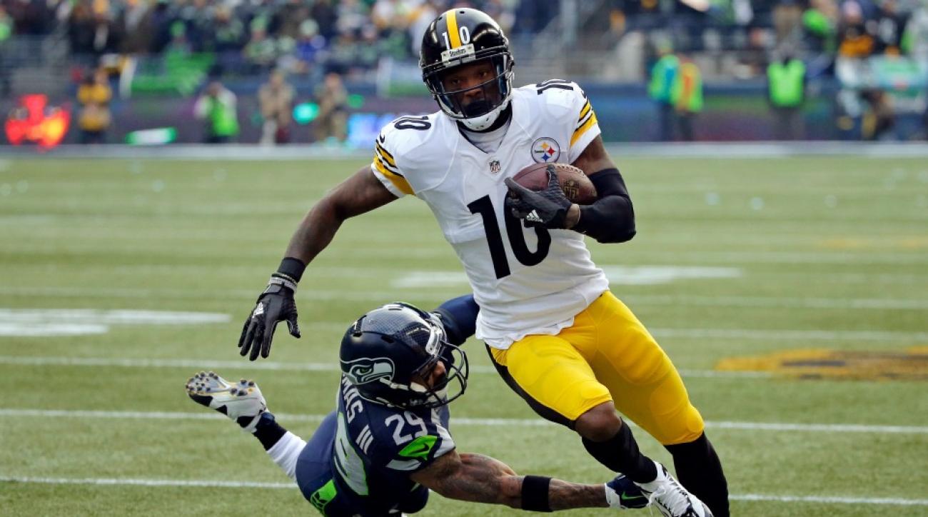 Pittsburgh Steelers Martavis Bryant makes 40 yard catch vs Seahawks video