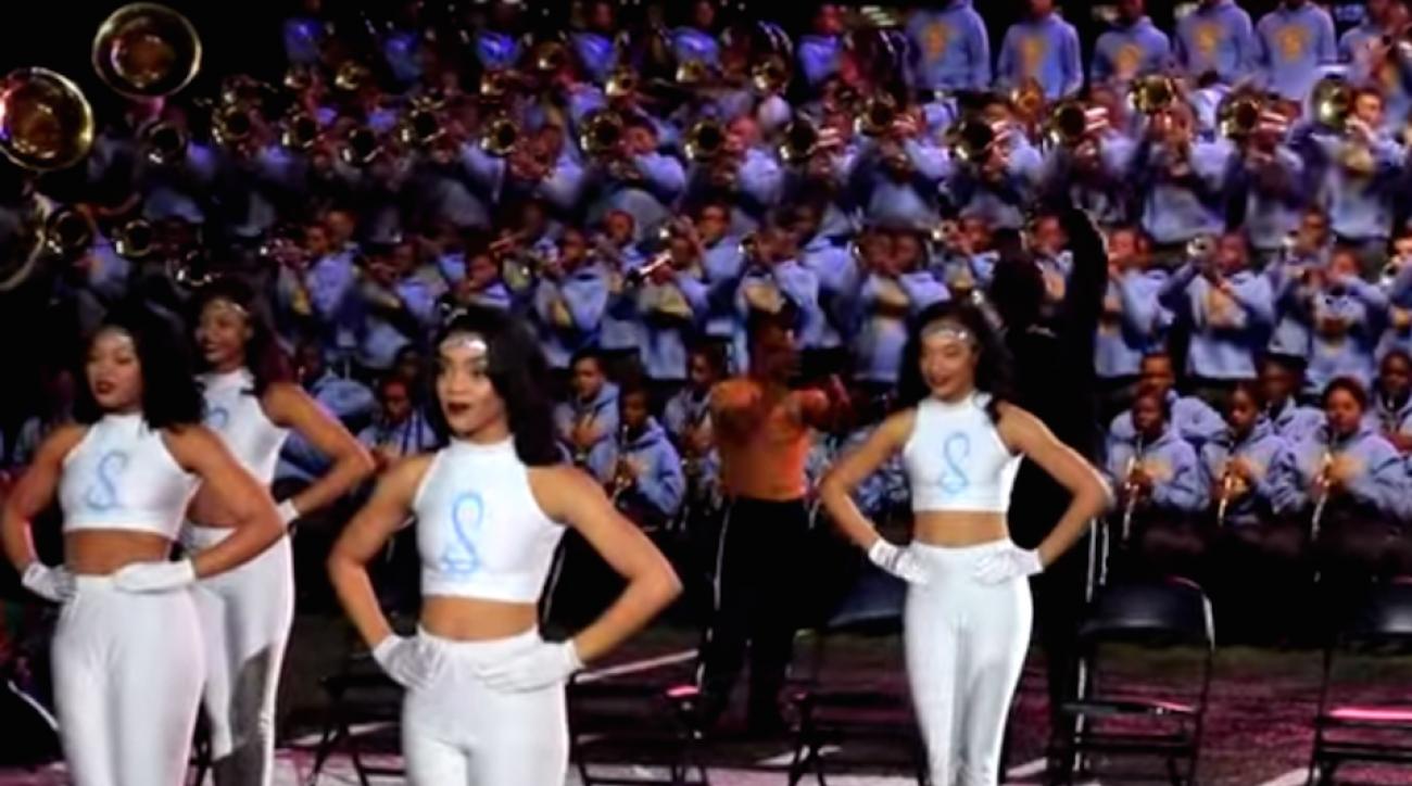 adele hello southern university marching band