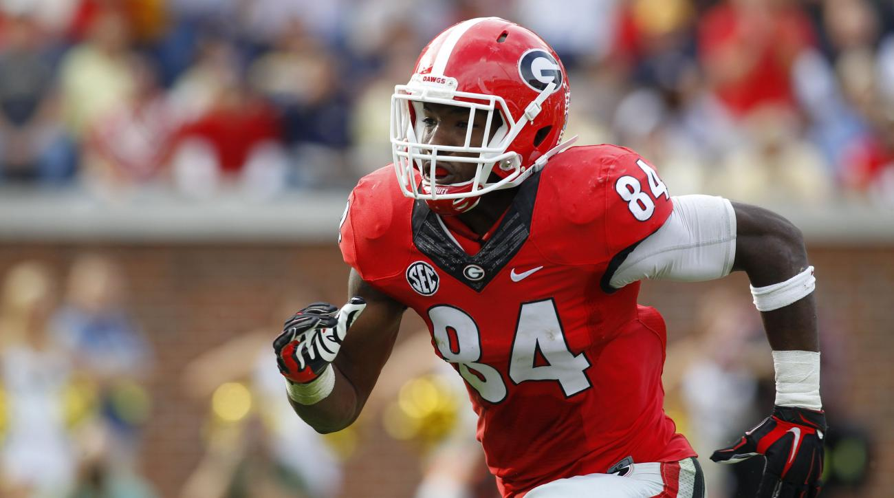 georgia football leonard floyd announces leaving program