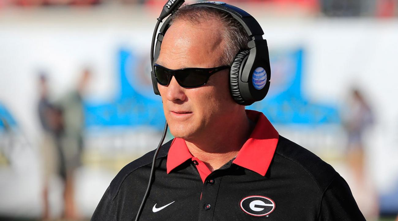 mark richt georgia football coaching future press conference