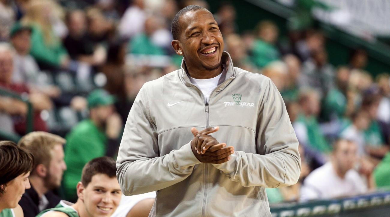 marshall assistant coach chris duhon suspended DUI arrest