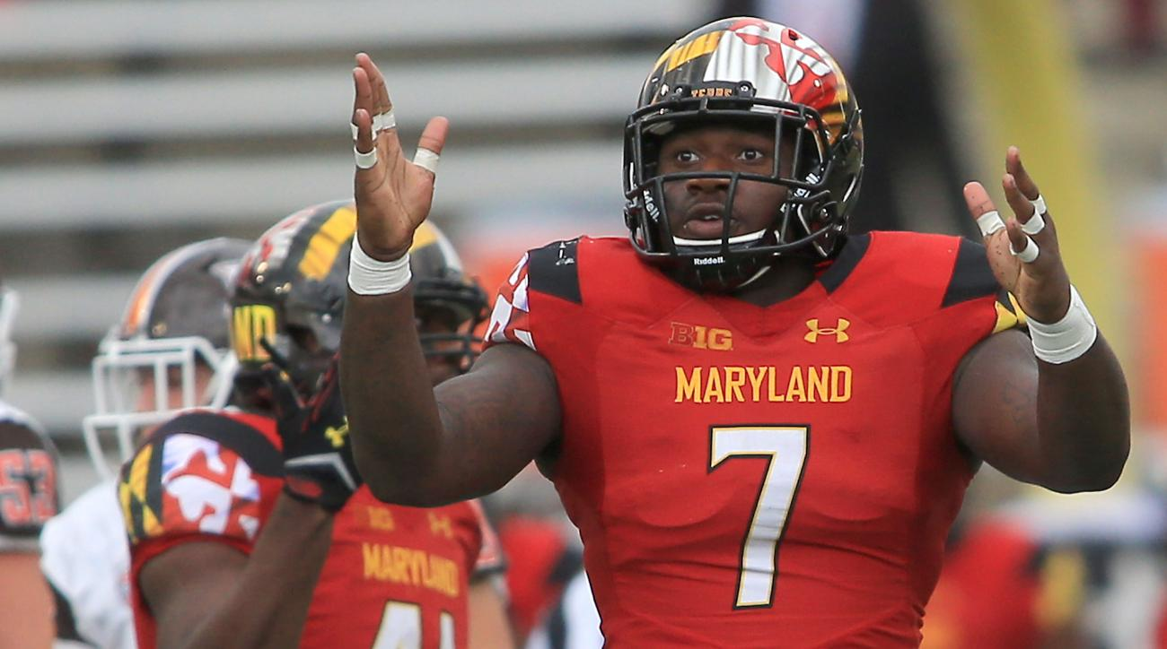 maryland football yannick ngakoue enter NFL draft