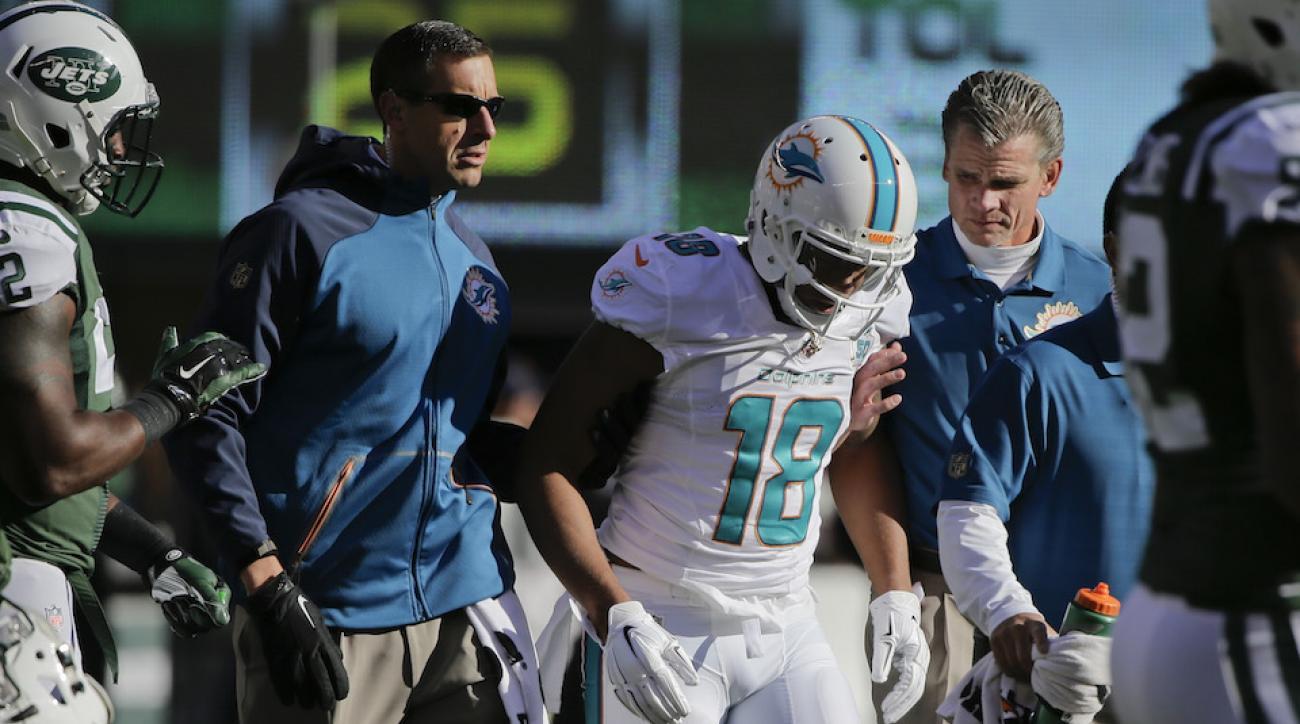 miami dolphins rishard matthews injury update