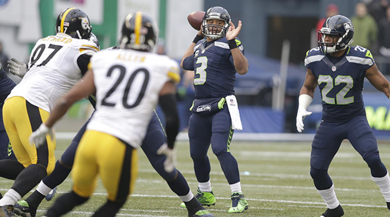 Russell Wilson throws career-high 5 TDs against Steelers