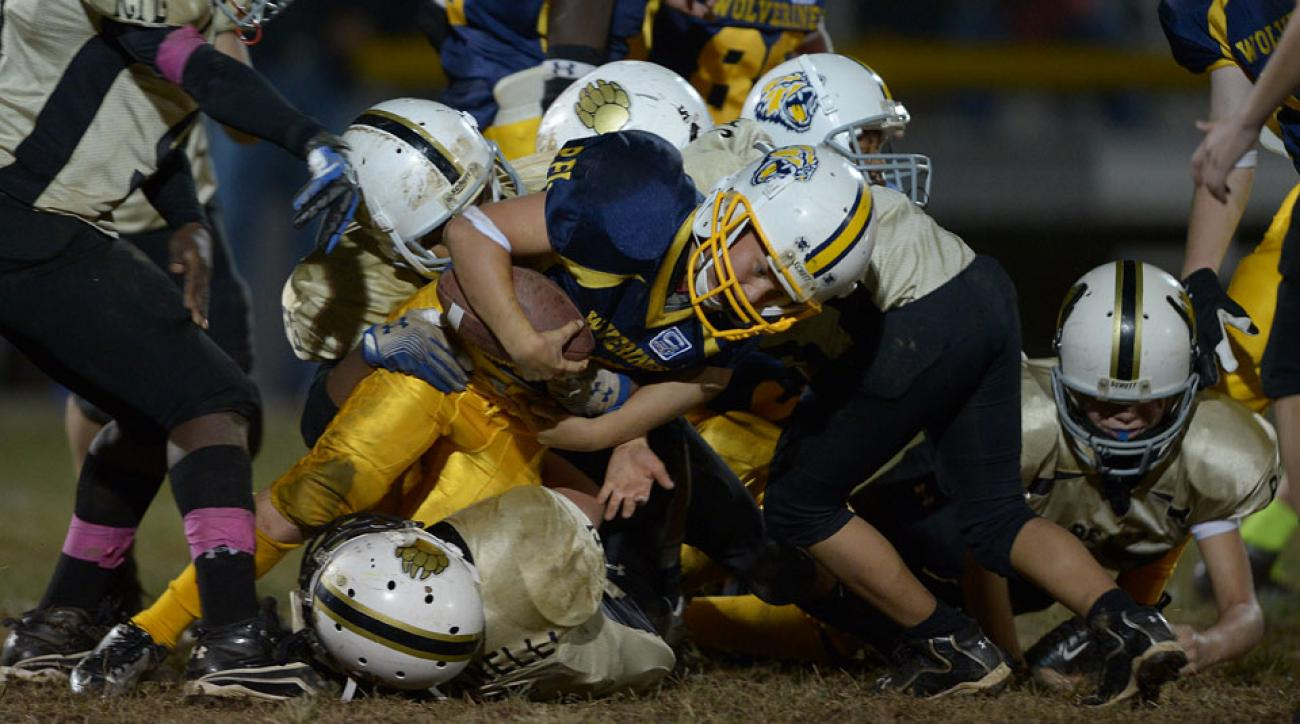 new study cte brain damage amateur youth sports