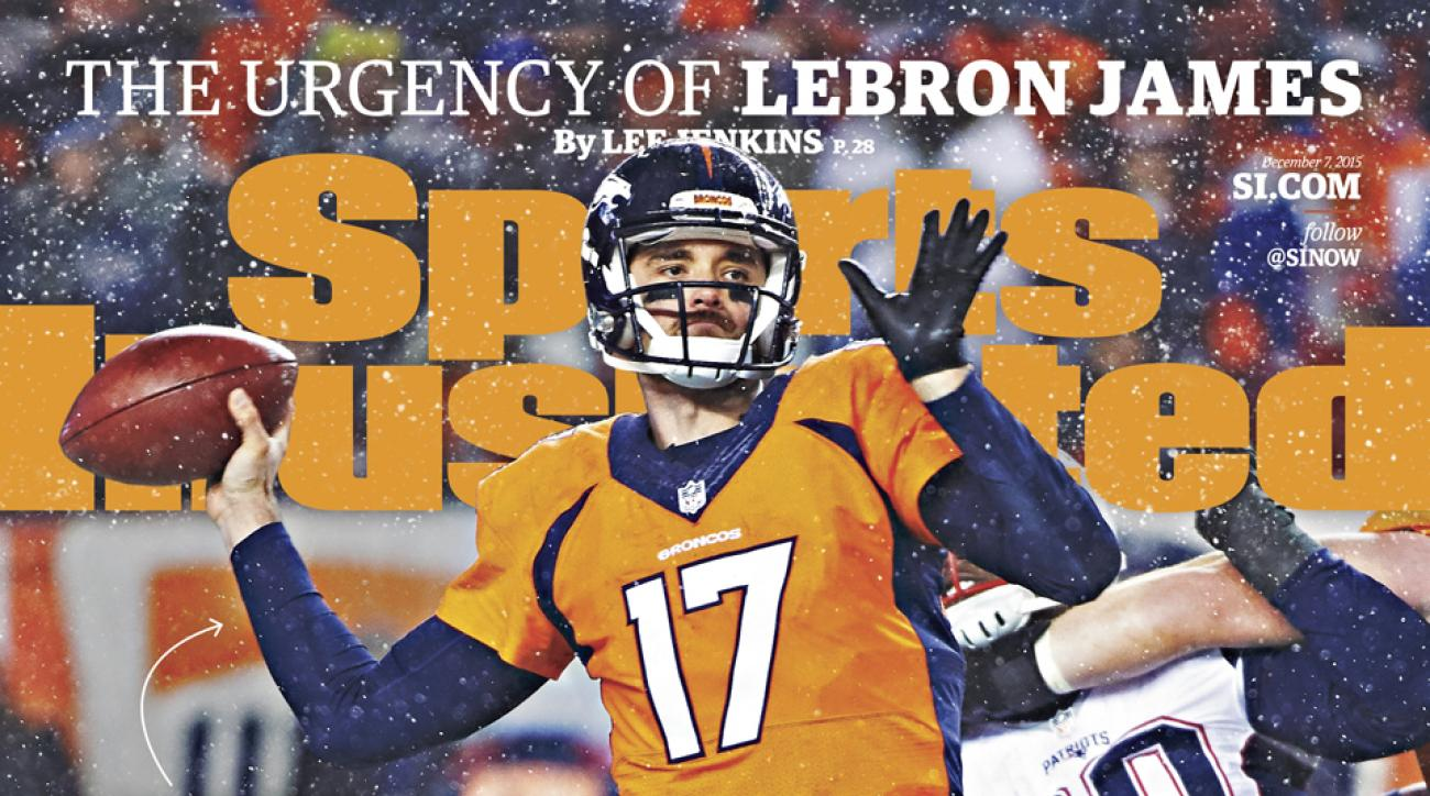 sports illustrated cover denver broncos brock osweiler