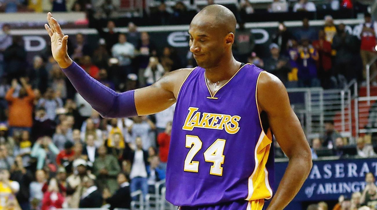 Kobe Bryant Los Angeles Lakers Washington Wizards