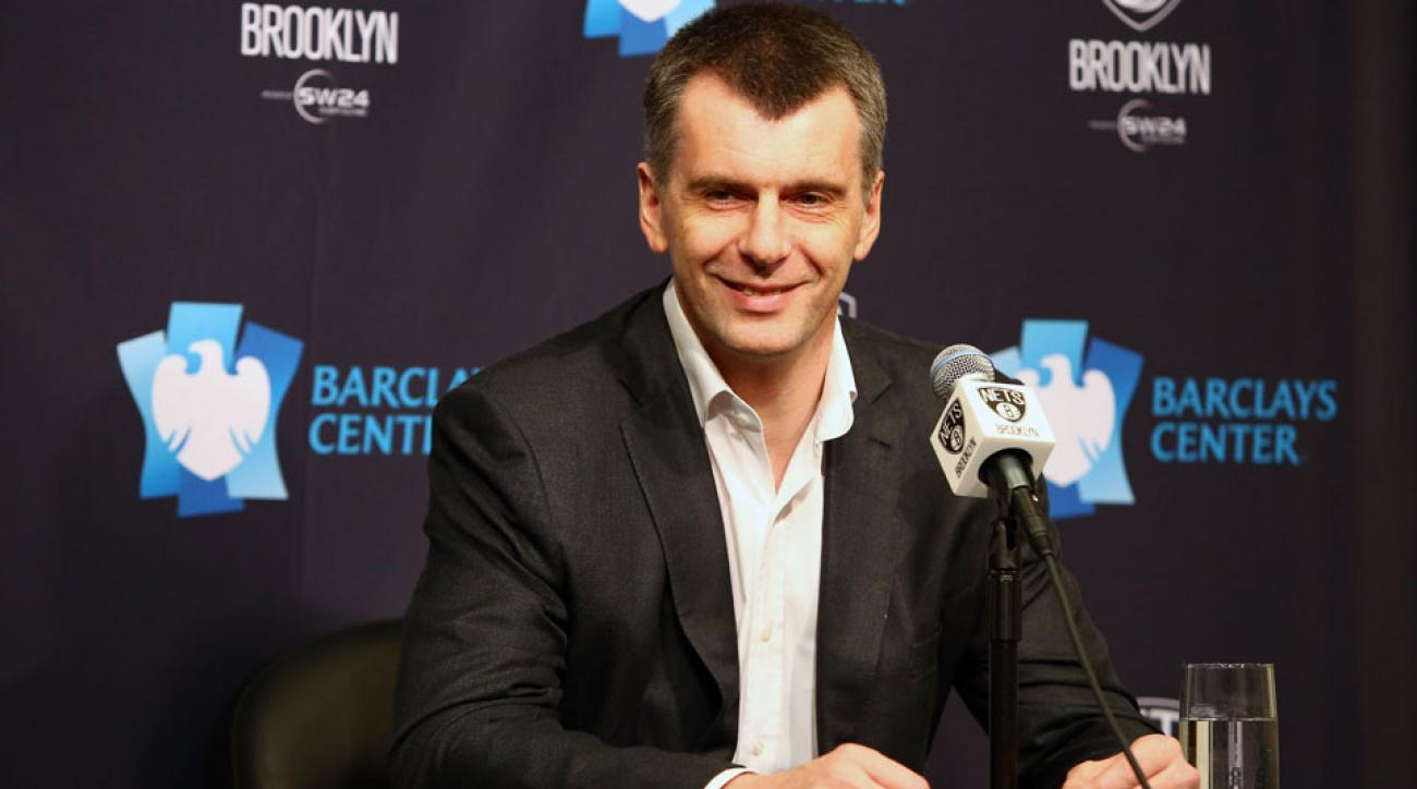 mikhail prokhorov brooklyn nets sole ownership deal