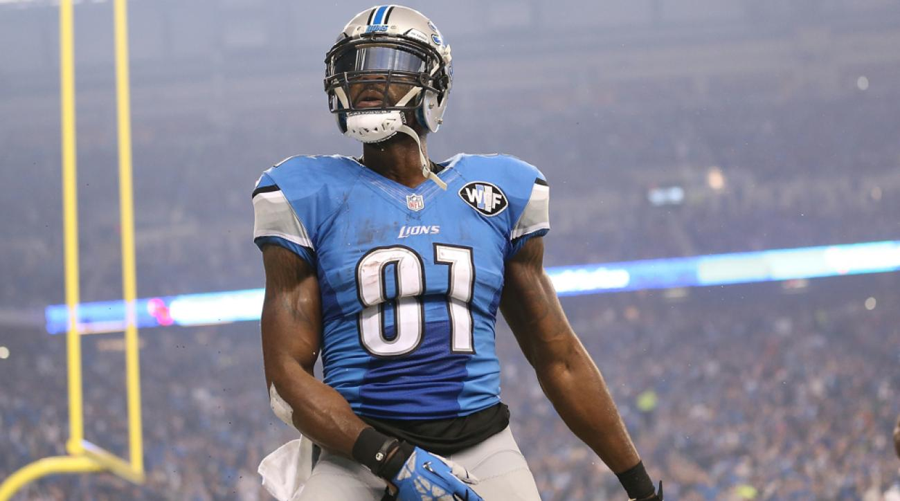 calvin johnson ankle injury lions packers