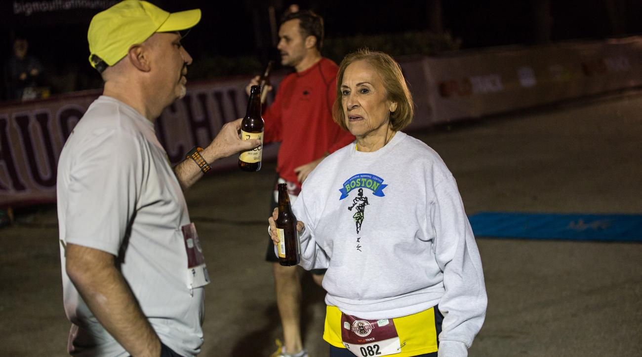 81-year-old beats kids in beer mile