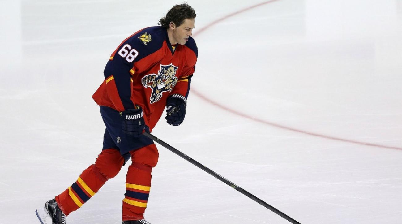 Florida Panthers' Jaromir Jagr says All Star Game would kill him