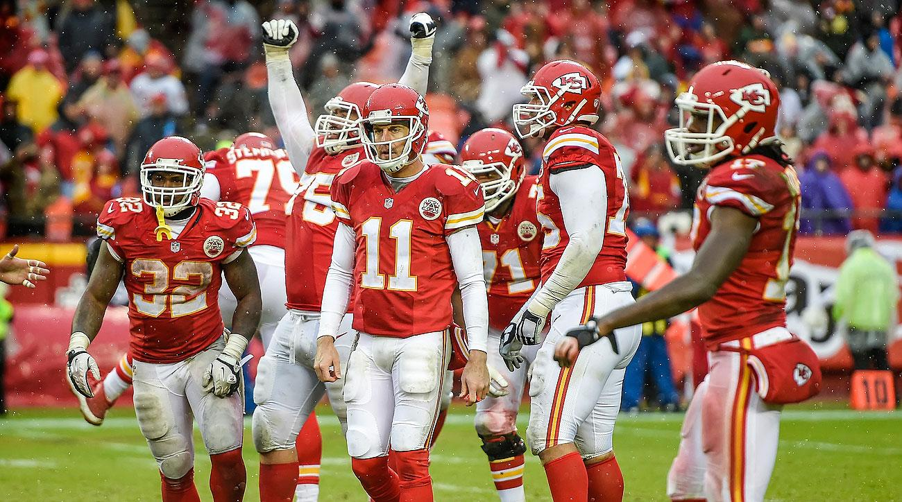 The Chiefs do not play a team with a winning record the rest of the season.