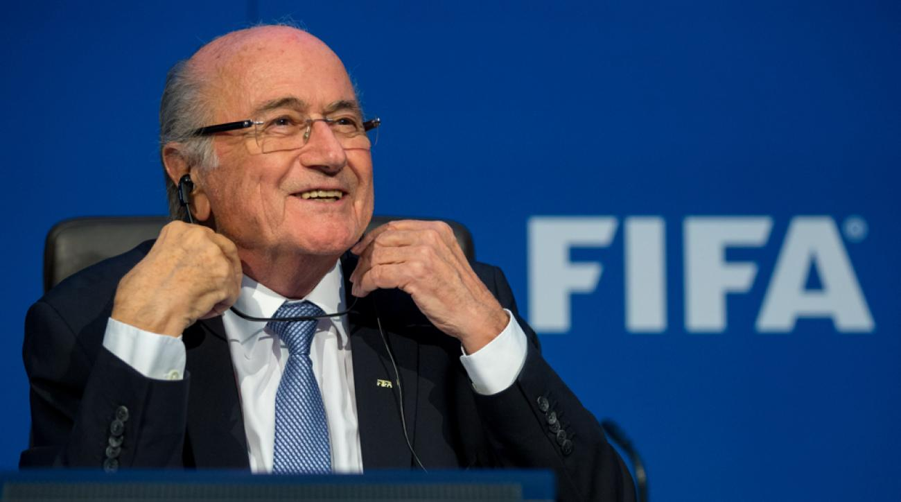 sepp blatter fifa corruption honorary resident