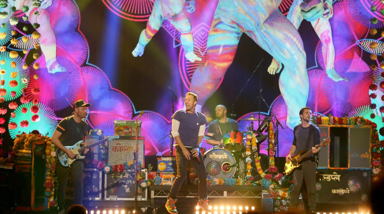 super bowl halftime act coldplay