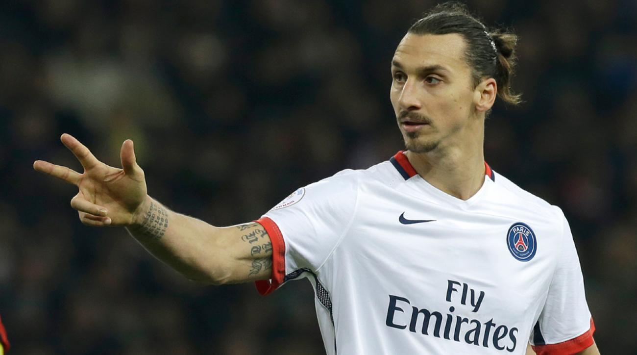 Zlatan Ibrahimovic, PSG, Nice