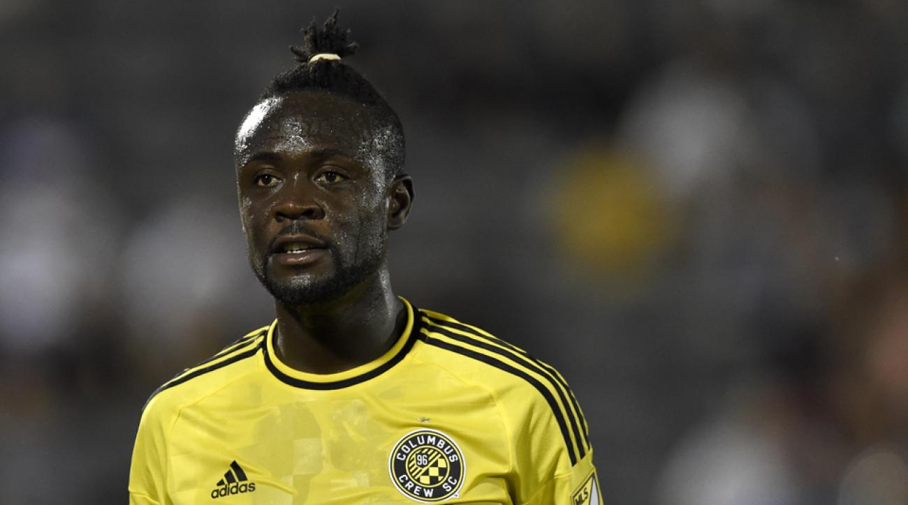 kei kamara columbus crew injury