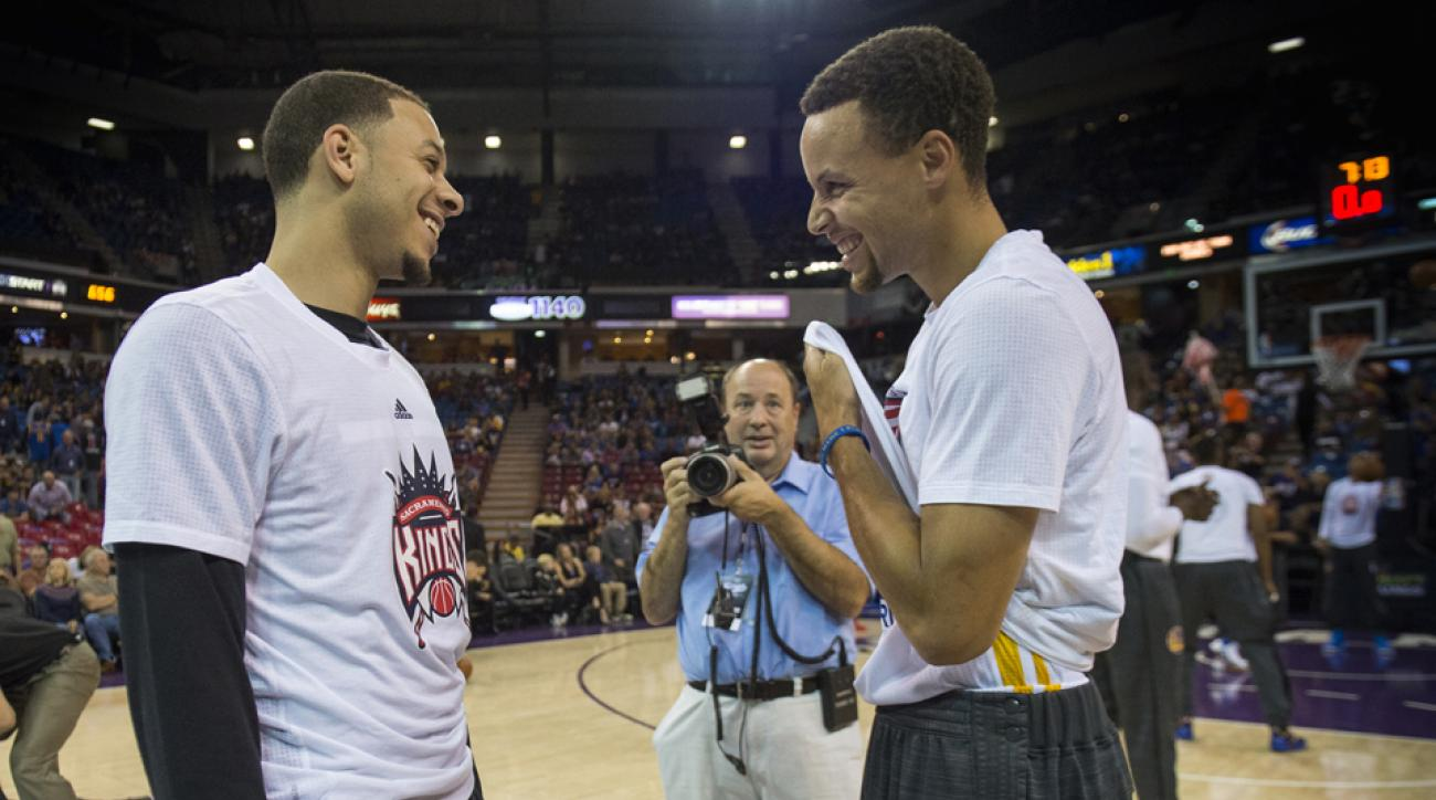 steph seth curry young