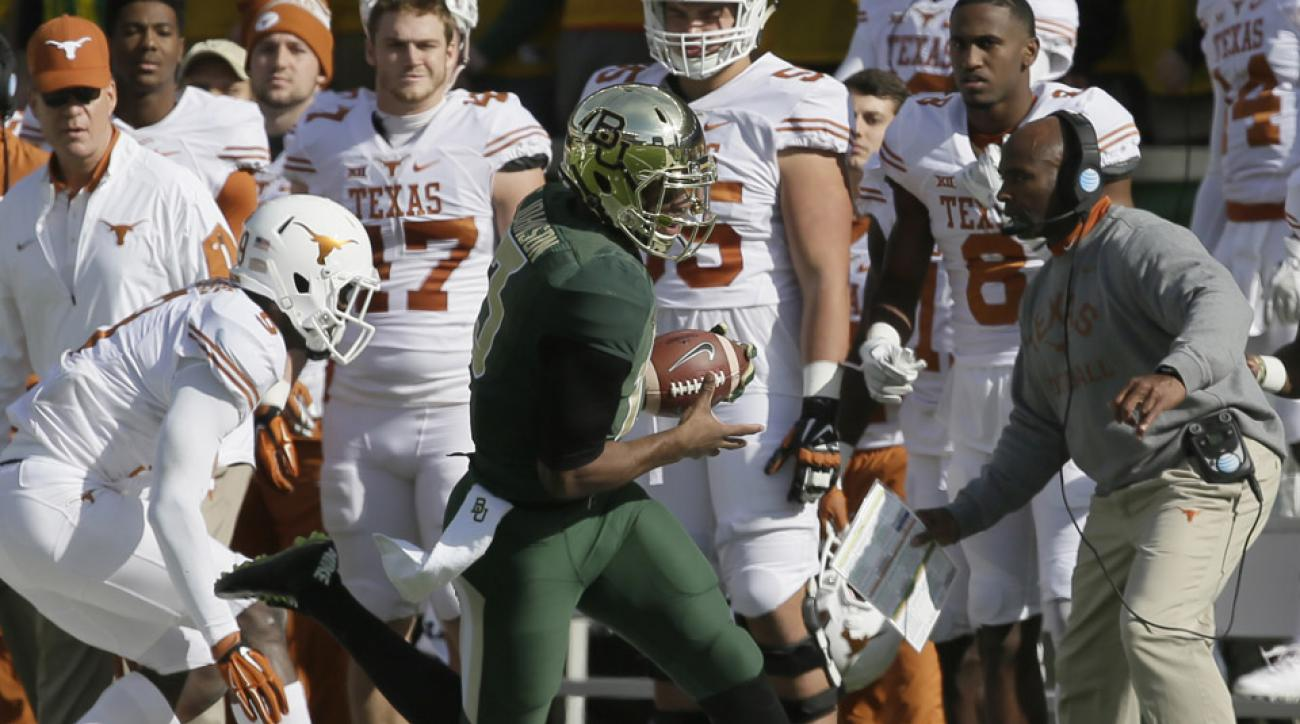 texas baylor fight video