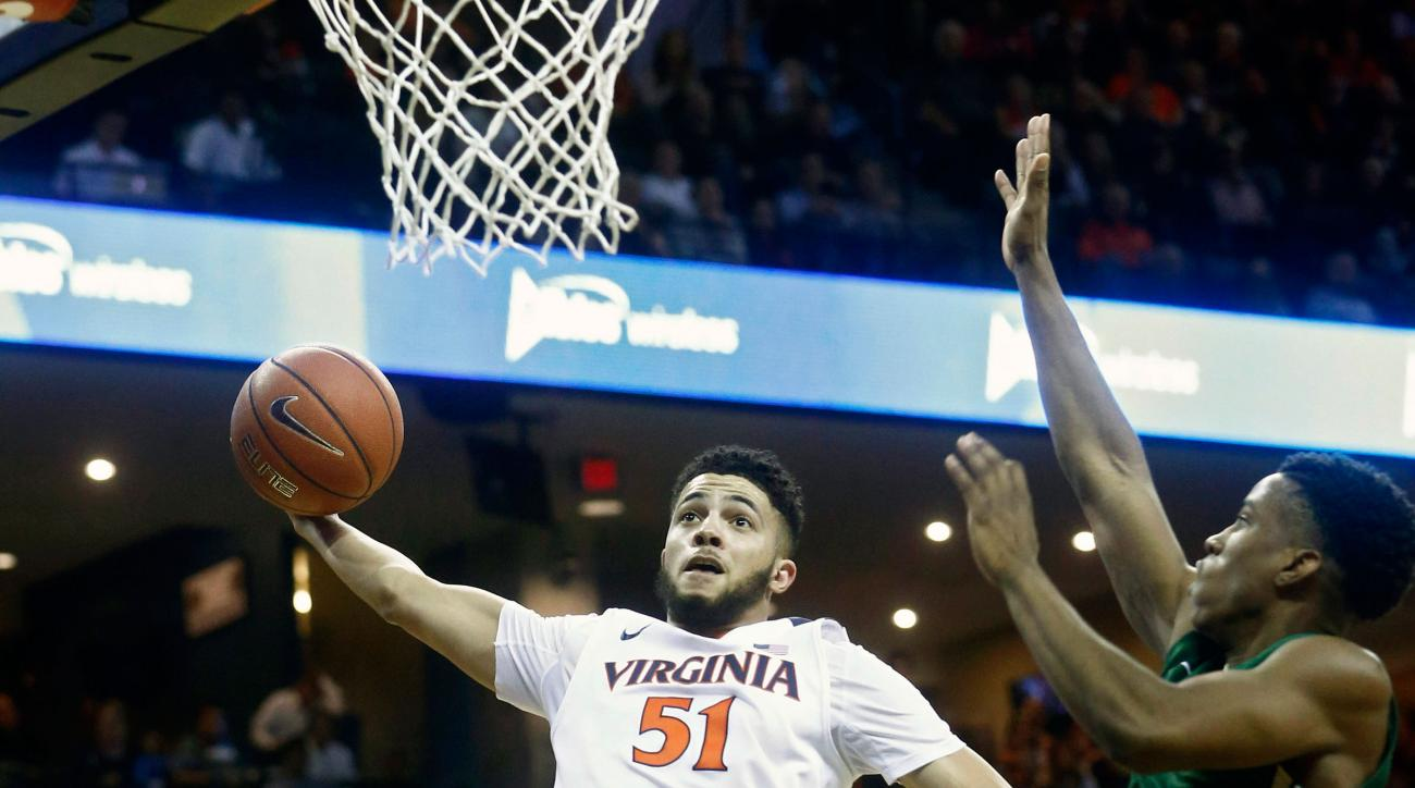 virginia basketball darius thompson dunk vs william and mary watch