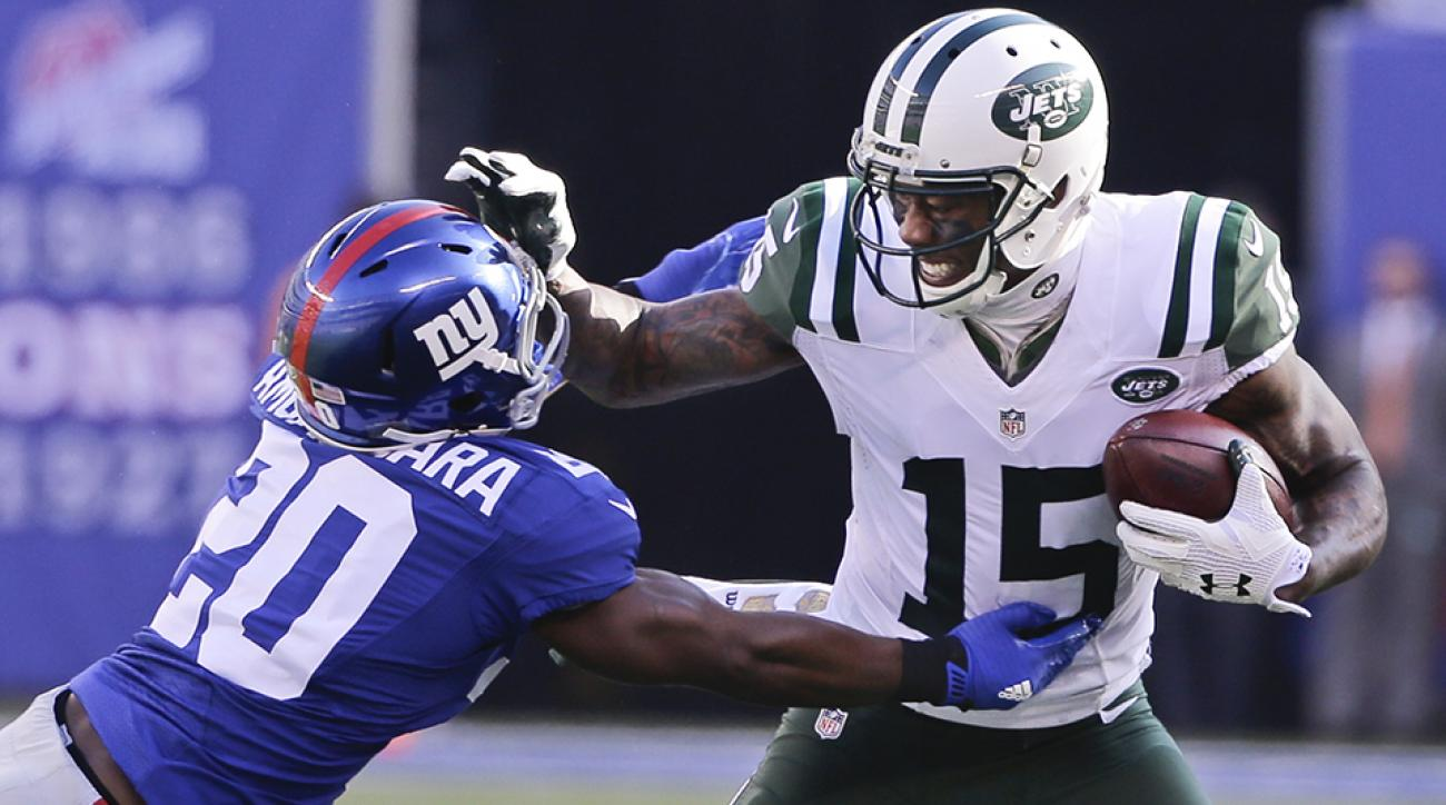 brandon marshall jets giants touchdown video