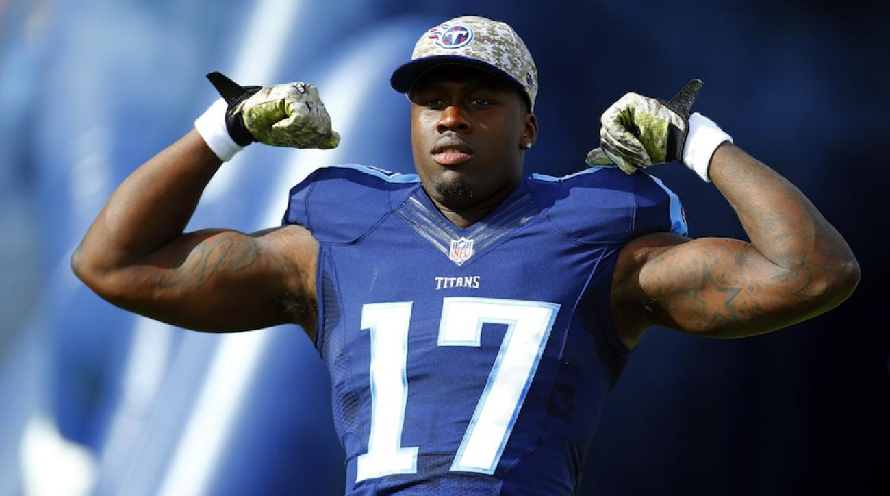 dorial green beckham titans touchdown video