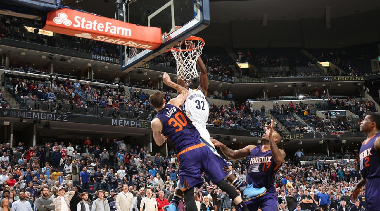 jeff green game winner suns grizzlies