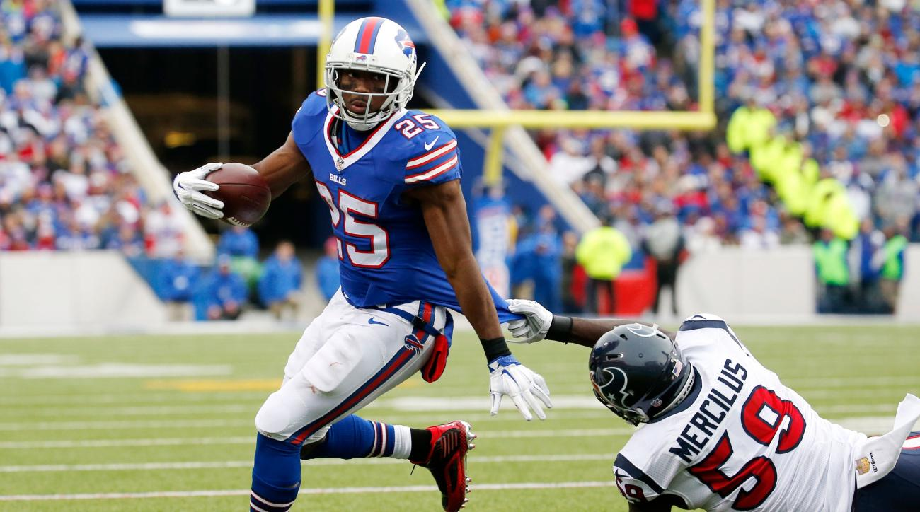 lesean mccoy concussion protocol injury update vs texans