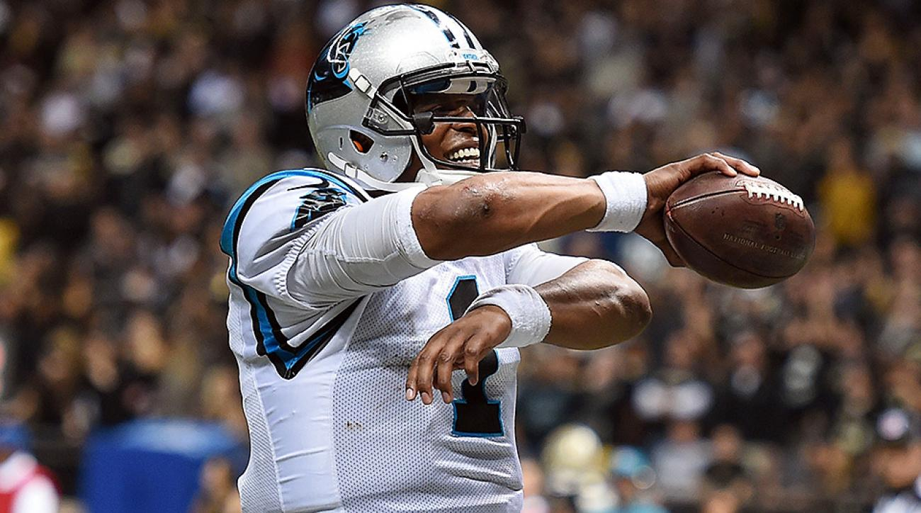 Cam Newton certainly looked like the MVP of the league in the Panthers' Week 13 win over the Saints.