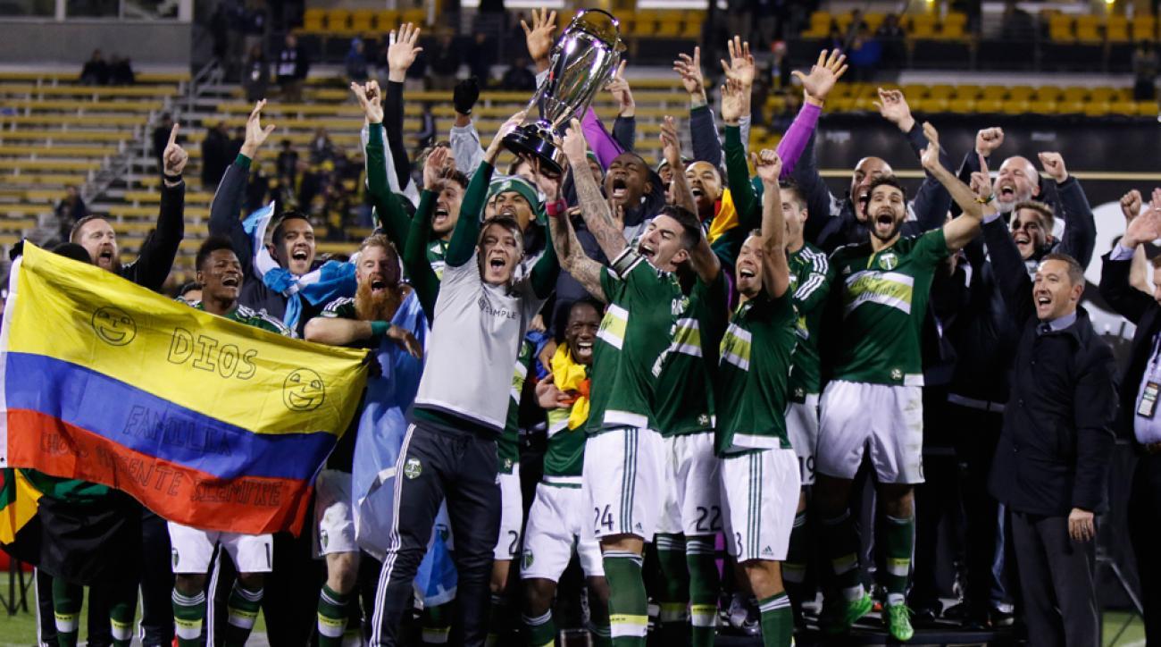 Portland Timbers win MLS Cup