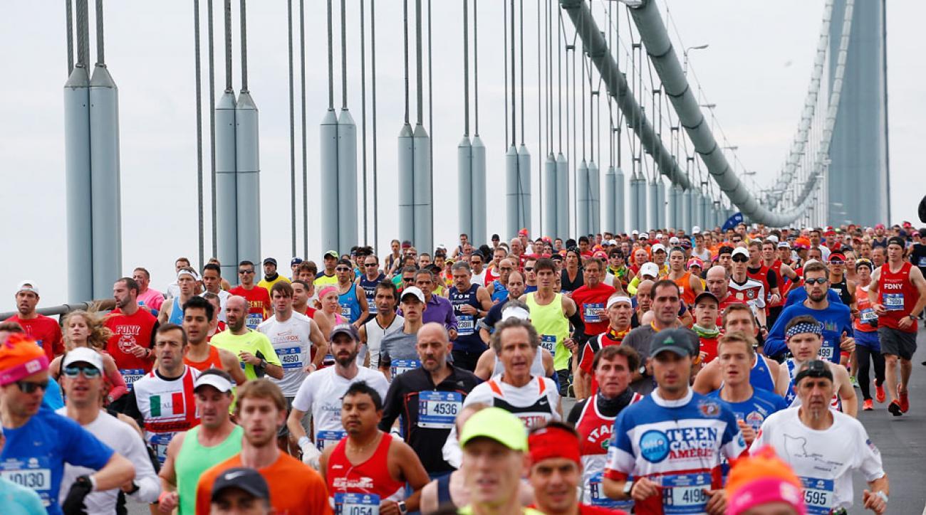 asics new york city marathon sponsorship