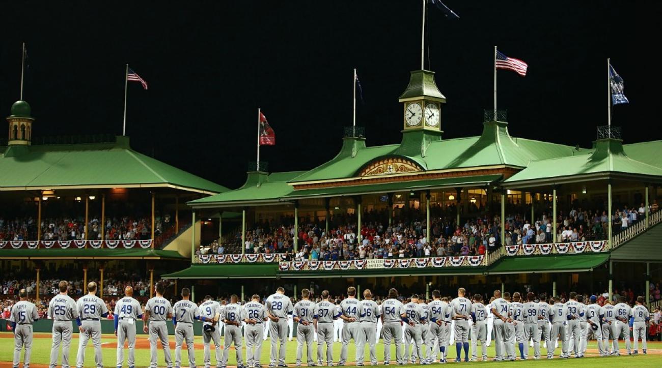 Austrailian Baseball League teams have three inning bullpen standoff