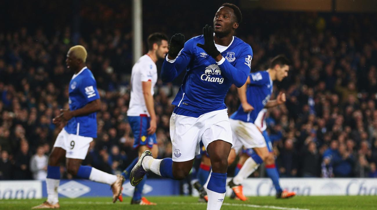 Romelu Lukaku, Everton, Crystal Palace