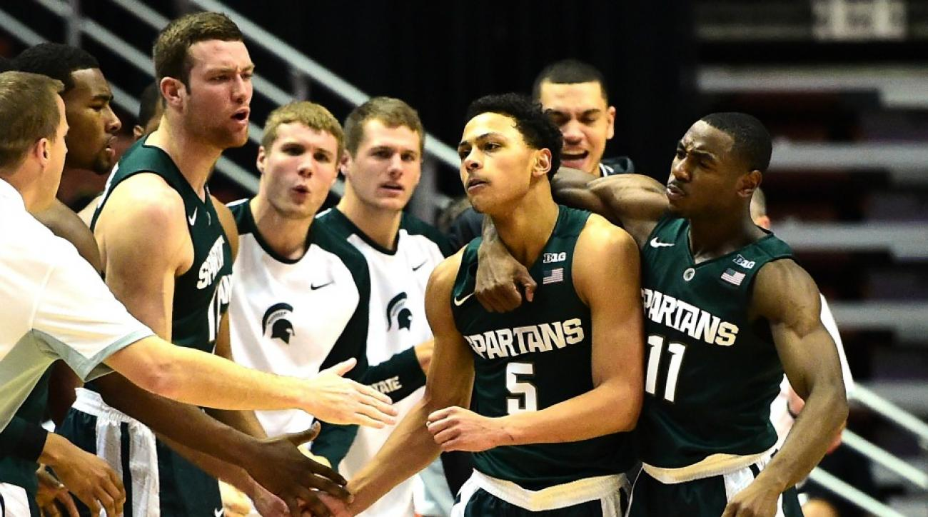 Michigan State tops this weeks AP Top 25 Poll