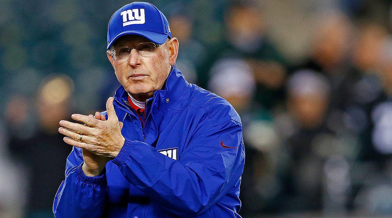 Tom Coughlin is 101-87 in 12 seasons as the Giants coach, with five playoff appearances and two Super Bowl titles.