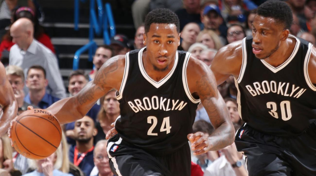rondae hollis jefferson broken ankle injury out indefinitely