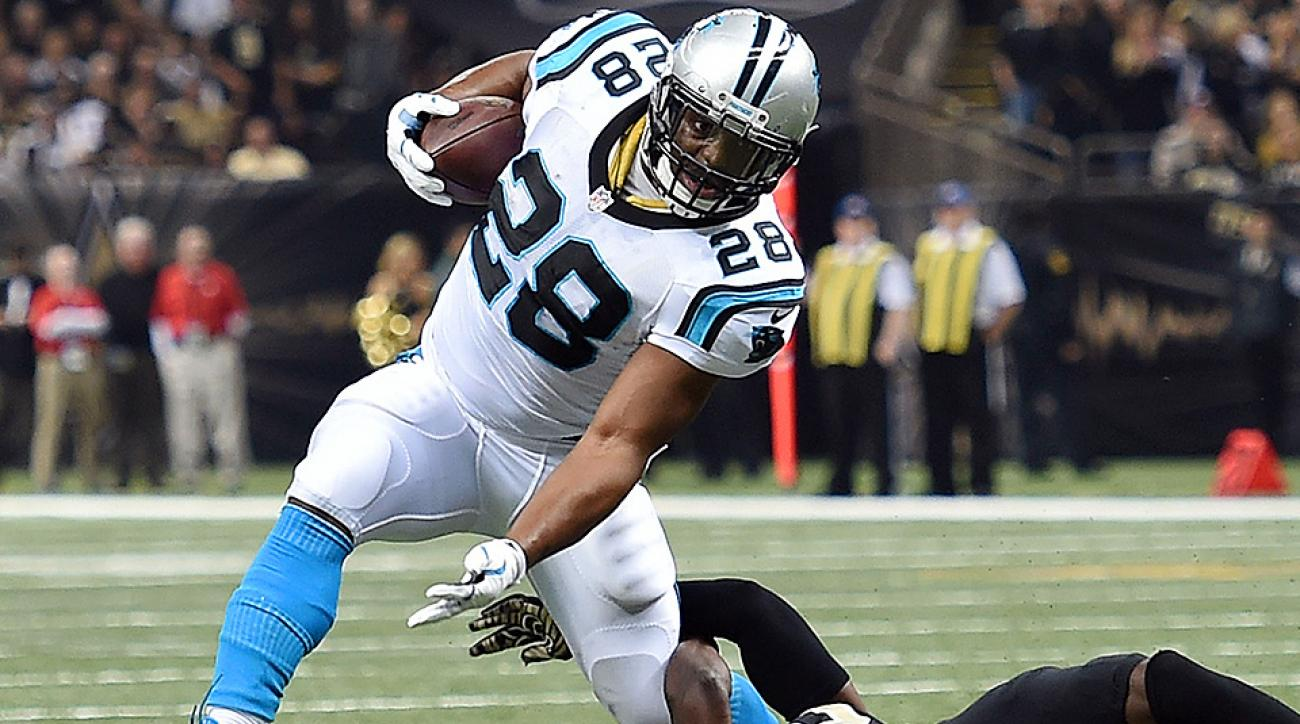 Jonathan Stewart leads running backs in our complete Week 14 fantasy rankings.