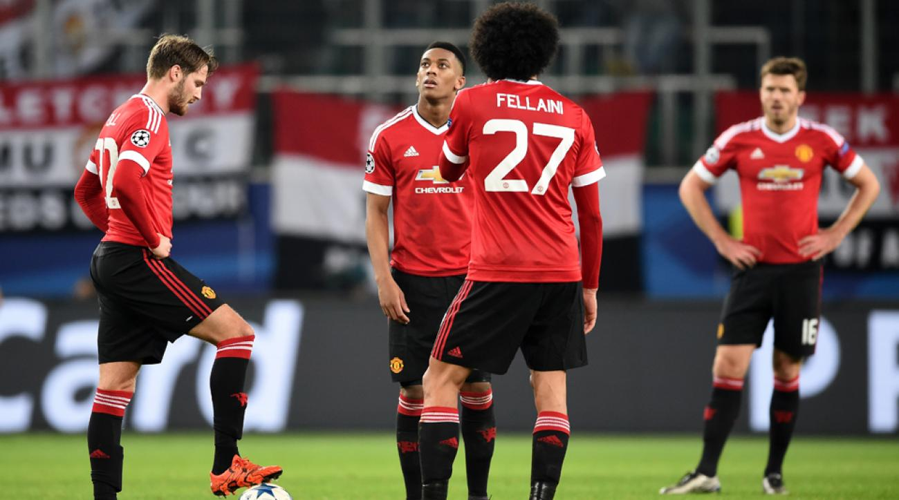 Manchester United out of Champions League