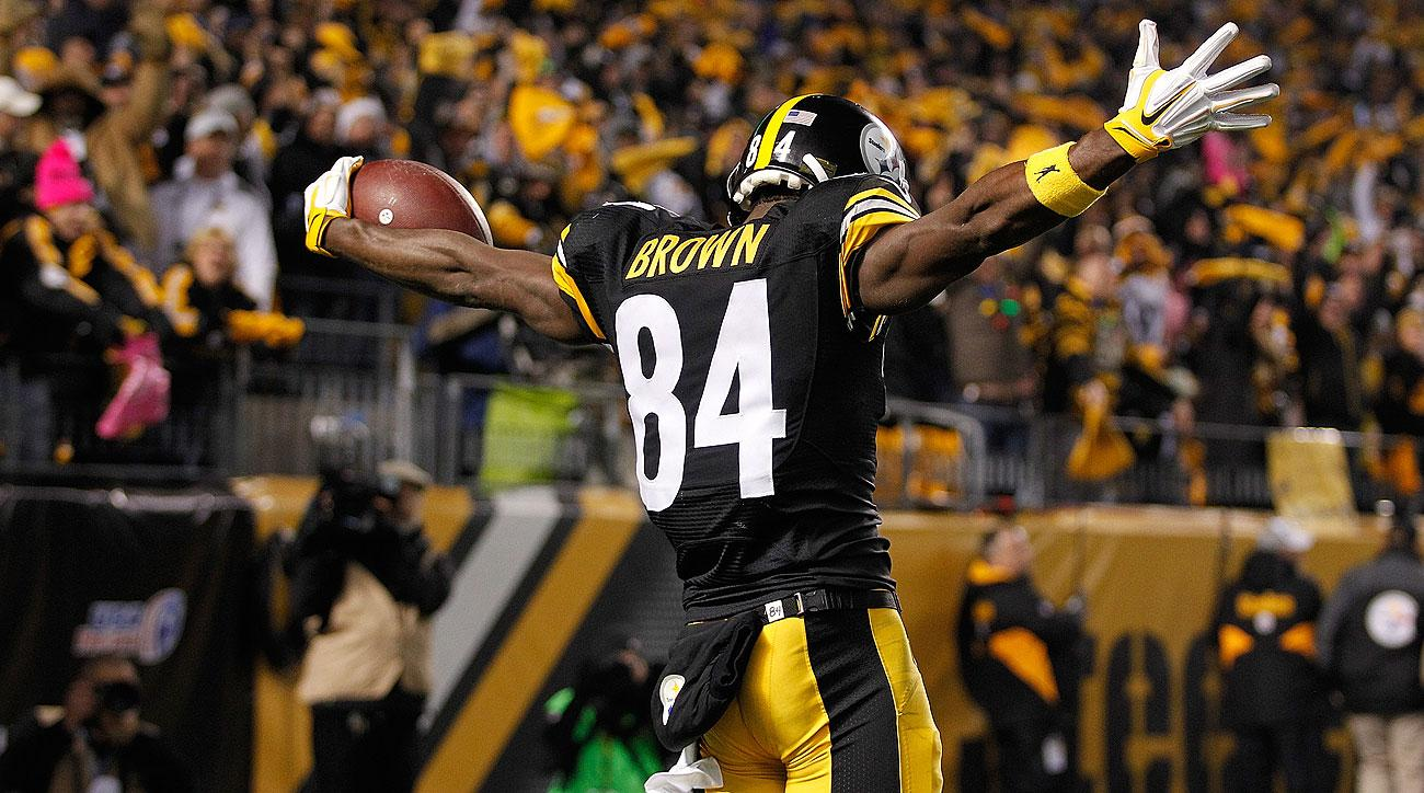 Antonio Brown and the Steelers have big tests the next two weeks: at Cincinnati and vs. Denver.